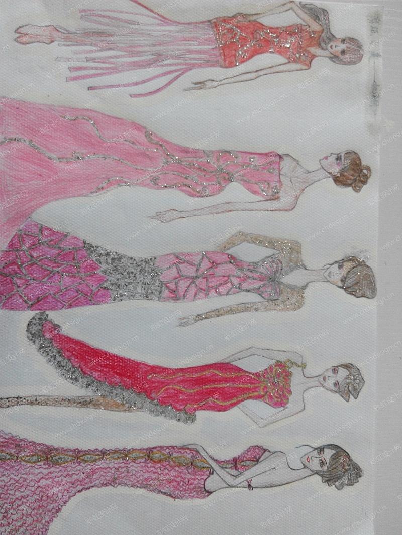 剪纸艺术女装