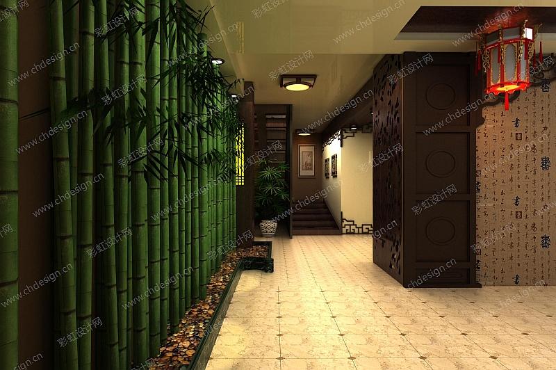"""老门东茶馆设计 主题""""禅意"""" 中式风格"""
