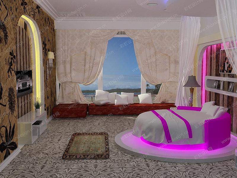浪漫温馨卧室装修效果图
