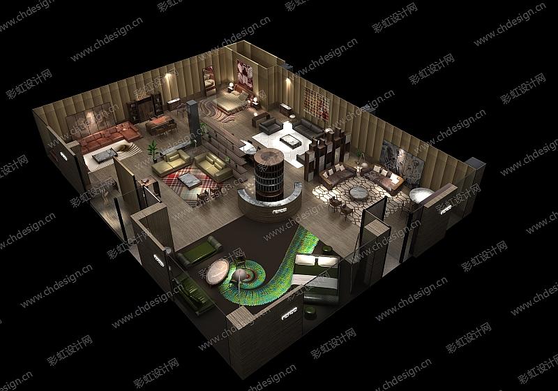 红星美凯龙家具店面设计