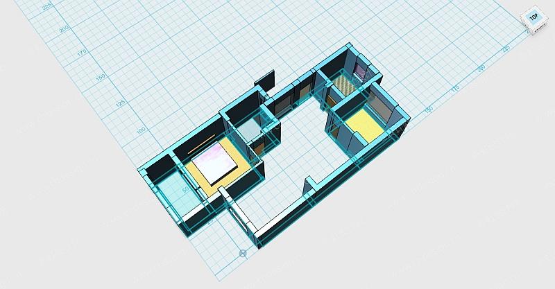 3D效果图家装硬装设计