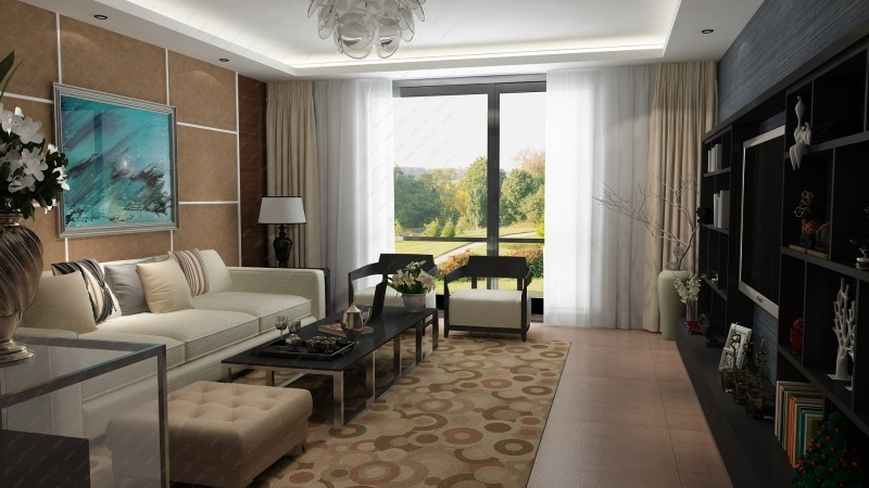 新古典客厅设计