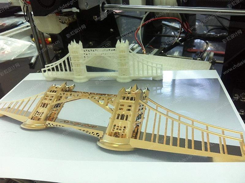 给女朋友的礼物建模 渲染 3D打印机打印出来