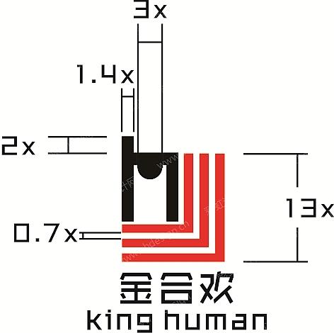 田径场跑道产品LOGO商标设计