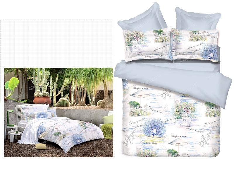 手绘床品图案设计