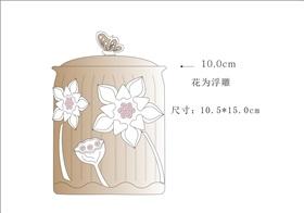 粗陶茶葉罐