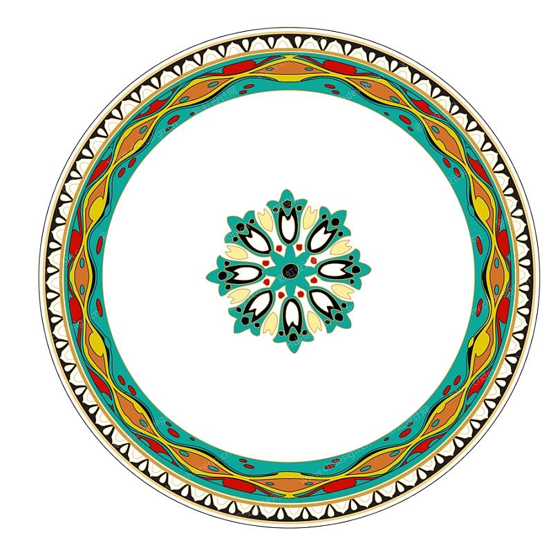 中东市场日用陶瓷图案设计