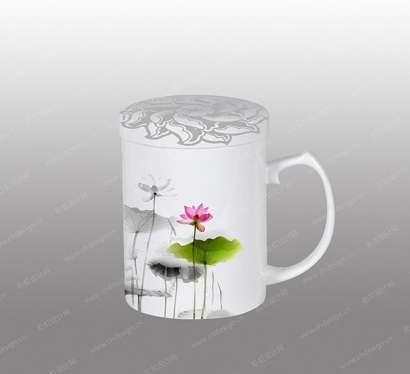 日用陶瓷杯图案设计