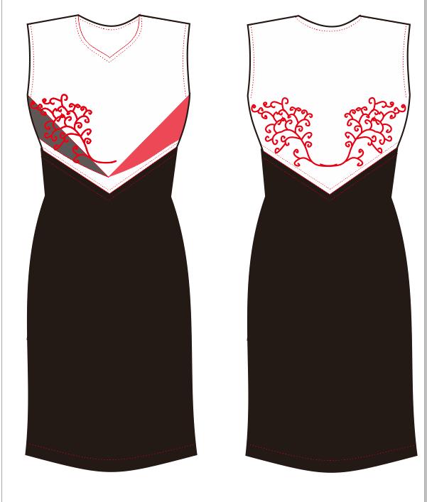 民族风系列-连衣裙 -1