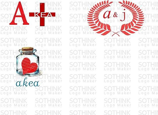 爱家 AKEA 的商标设计logo