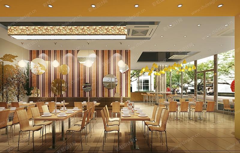 龙之鲜快餐店装修设计