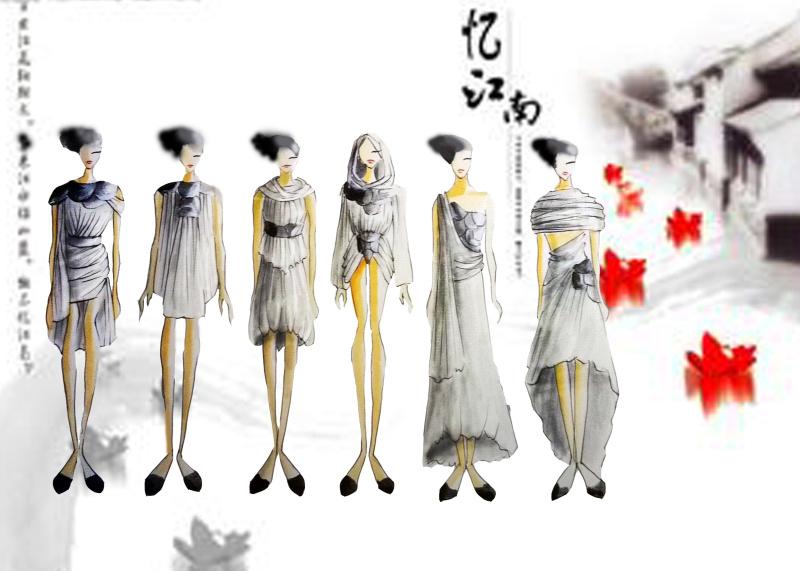 中式婚纱礼服  成衣 经典前卫