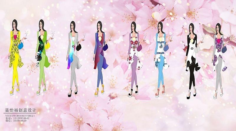 夏季女性时装