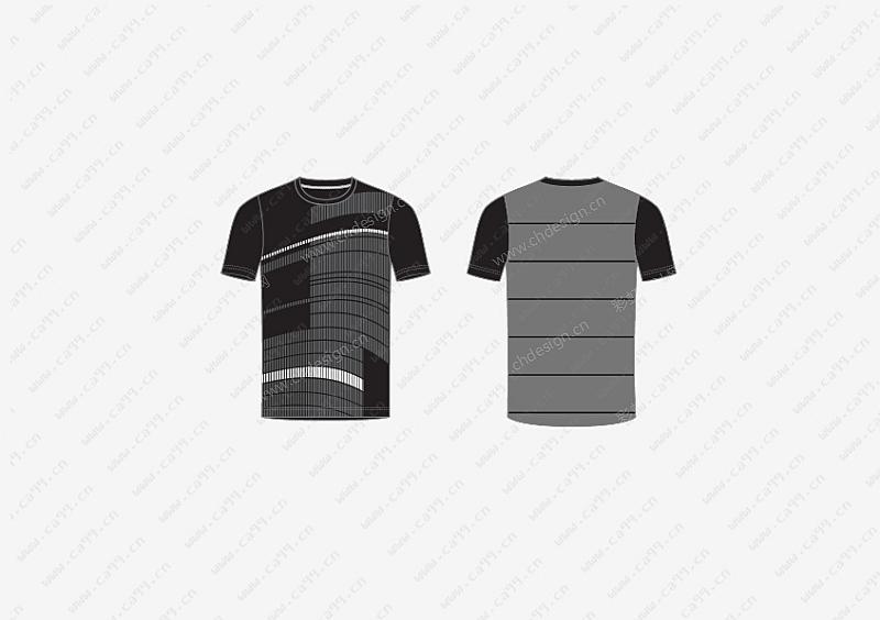 男运动跑步T-shirt