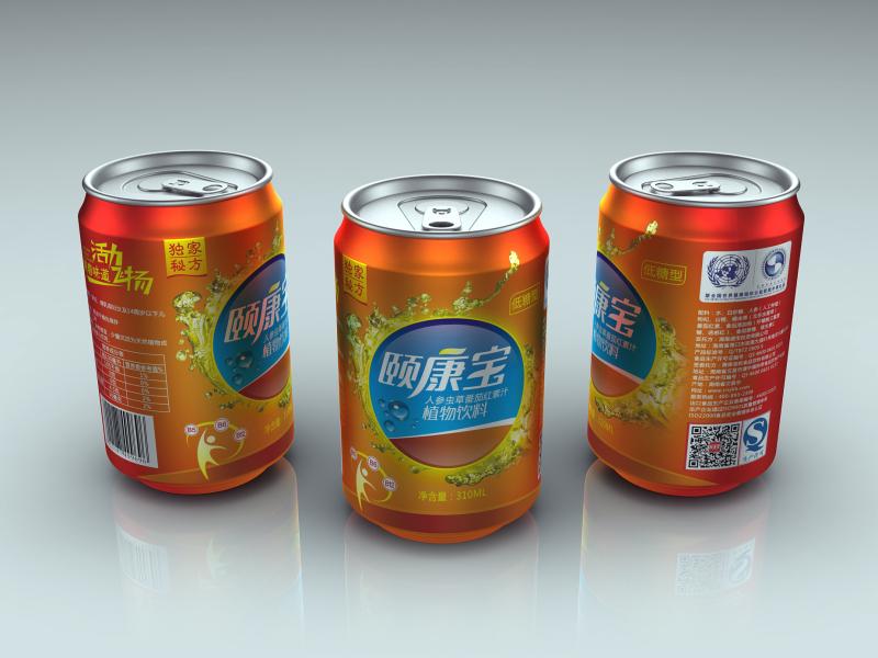 饮料 饮料包装 易拉罐 水花