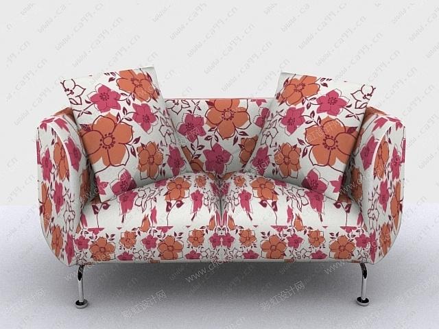 欧美布艺沙发图案设计