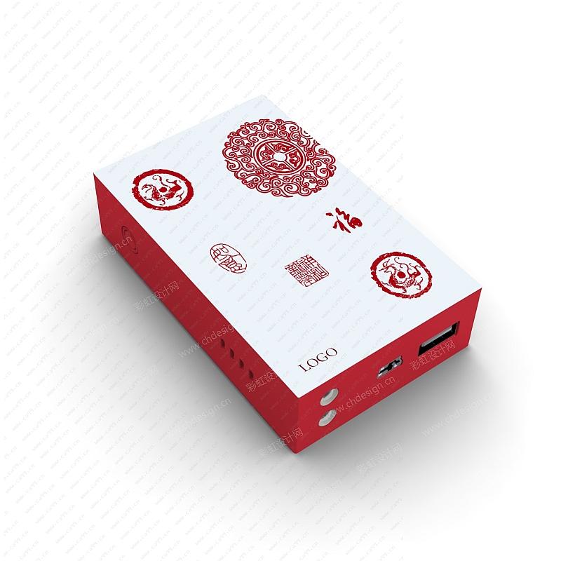 中国风创意图案贴花纸花纹