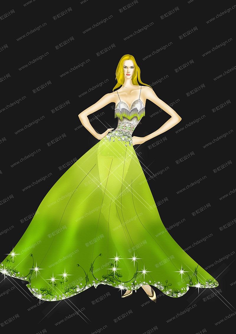 巴黎之花舞蹈服装设计