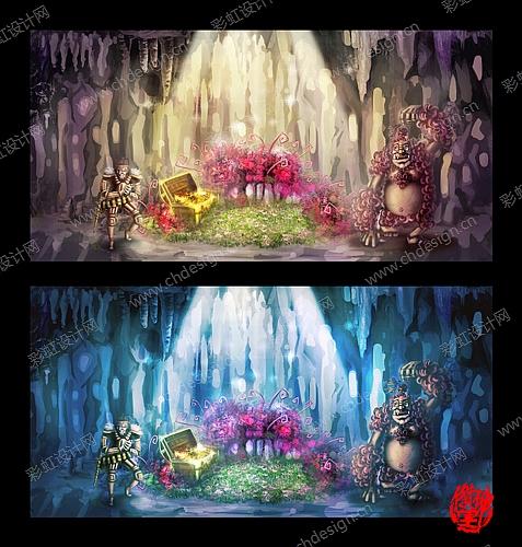 原创动画分镜、角色设定、场景