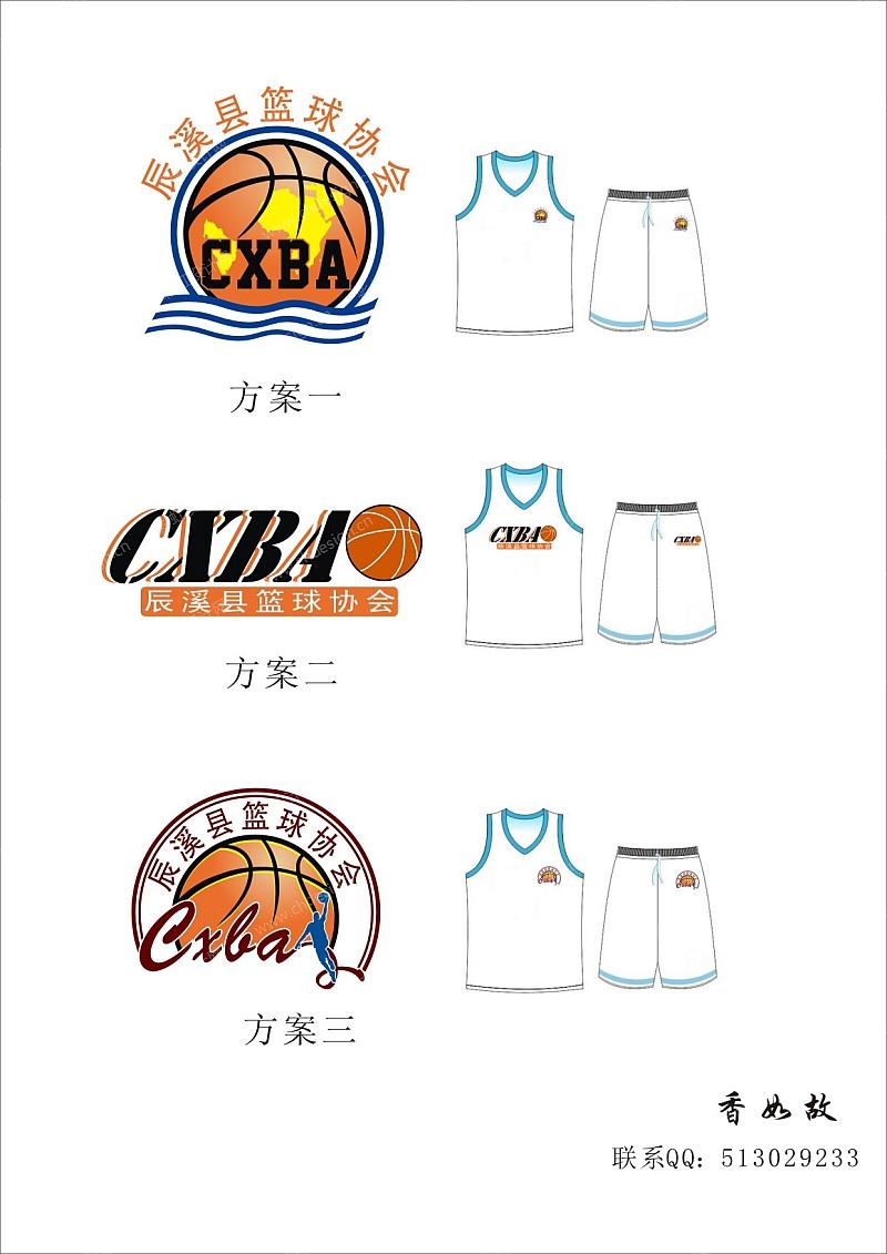辰溪县篮球协会logo设计