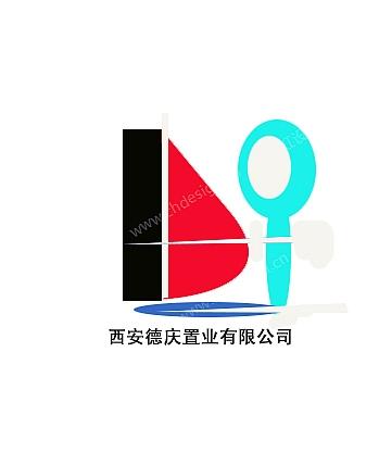 西安德庆置业公司logo
