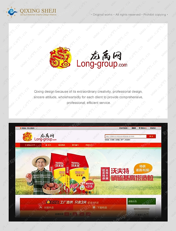 农村电子商务网站logo设计
