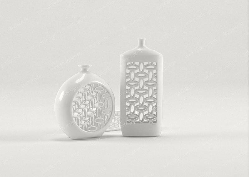 陶瓷家居摆件产品造型设计