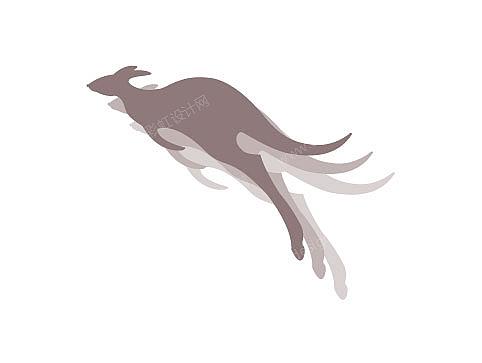 袋鼠logo