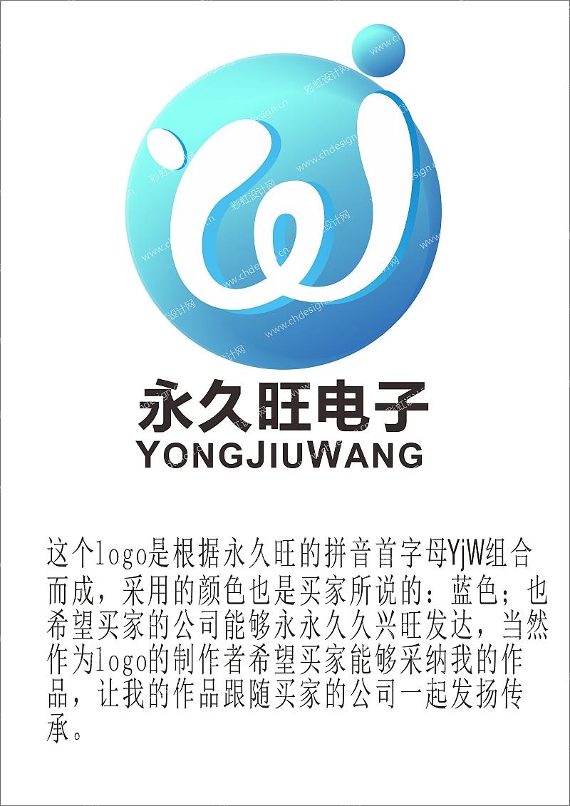永久旺电子logo