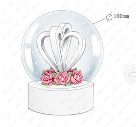 婚礼情人节心形水球