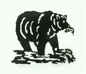 铁皮线割动物熊