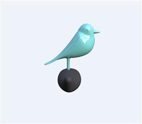 工业设计产品设计小鸟挂钩