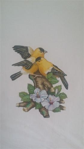 工艺品设计 节日花园手绘稿