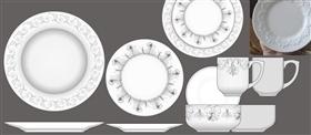 陶瓷浮雕机雕餐具系列