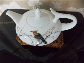 陶瓷茶壺手繪圖案