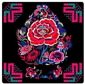 中式古典花卉家纺