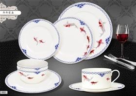 中式风格骨质瓷餐具