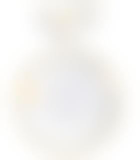 电光花纸黄牡丹盘碗