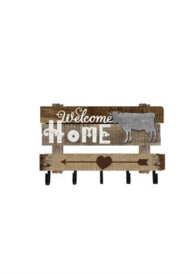 乡村风格木制挂板
