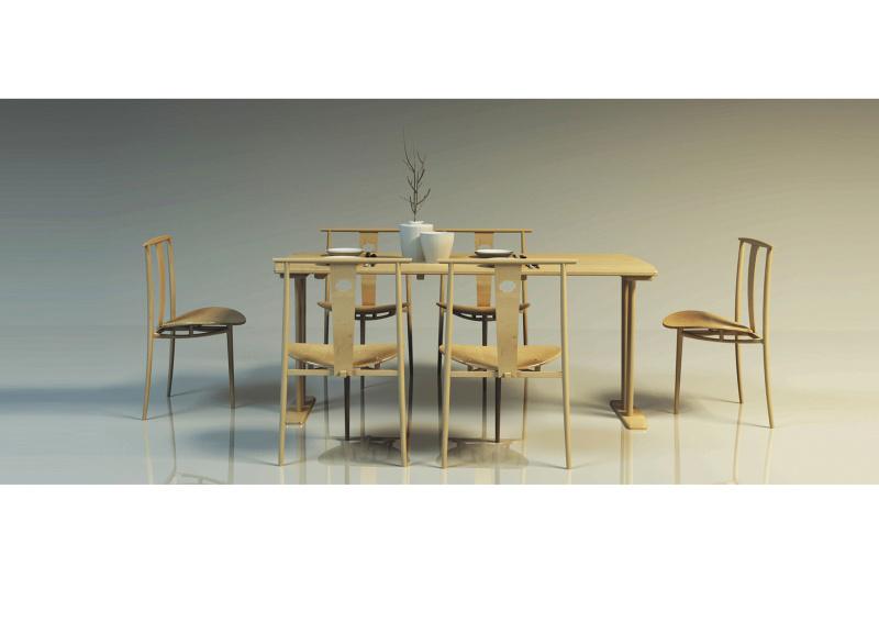 新中式家具设计