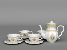 茶具花纸设计