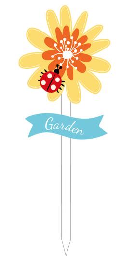 花园花朵铁艺插件