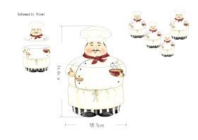 廚房廚師儲物罐
