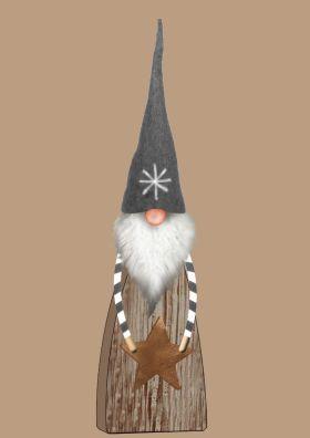北欧布艺圣诞老公