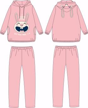 冬季珊瑚绒女睡衣