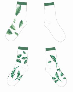 简约北欧风袜子