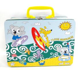 海洋沙滩潜水手提礼盒(铁盒)