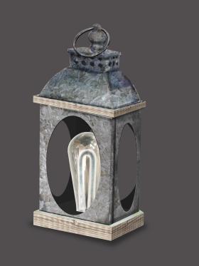 自由燈管風燈