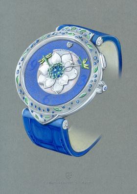 Christophe Claret花卉腕表