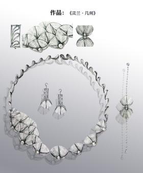 自然系銀首飾三件組合系列